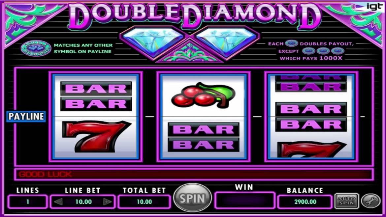 Machine à sous gratuite Double Diamond : notre avis en toute honnêteté !